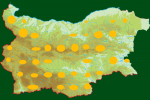Distribution map of Golden Eagle/Aquila chrysaetos