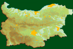 Distribution map of Squacco Heron/Ardeola ralloides